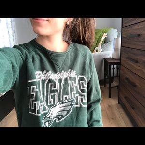 Junk Food | Slouchy Eagles 🦅 Sweatshirt